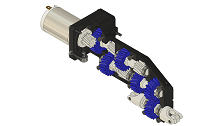 GECKO 3D printed gearbox