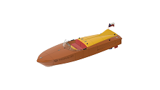 3D printed RC boat MONCY